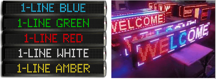 Màn hình quang báo, led matrix